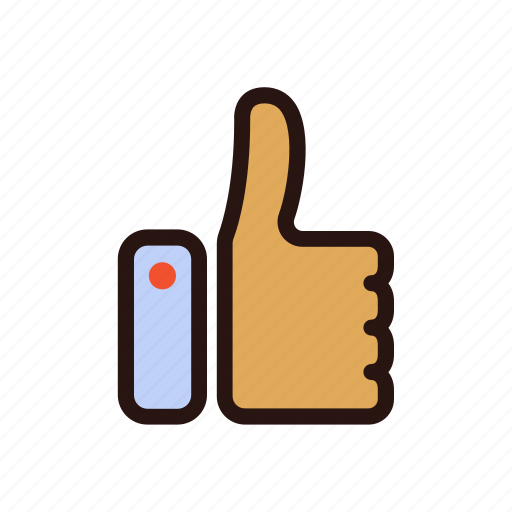 communication, facebook, gesture, like, multimedia, social media, thumb up icon