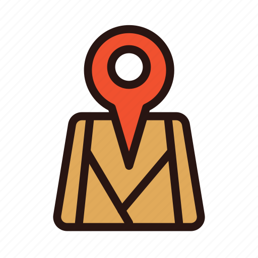 direction, location, map, navigation, pin, search, tom tom icon