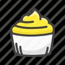 cake, cream, cupcake, dessert, food, sweet, swirl