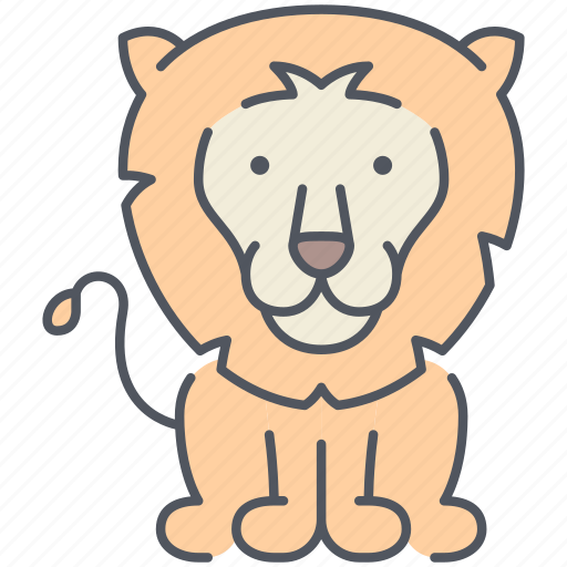 animal, forest, jungle, king, lion, nature, wild icon