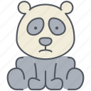 animal, asian, bamboo, bear, forest, nature, panda icon