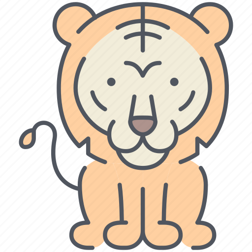 animal, forest, leopard, lioness, nature, tiger, wild icon