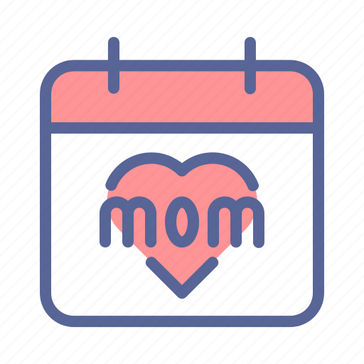 calendar, day, event, mothers icon