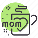coffee, day, mothers, mug icon
