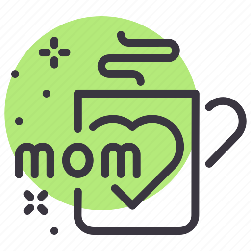 coffee, day, mothers, mug icon