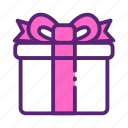 day, gift, mother, present icon
