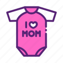 clothes, mother, baby, day, jumper icon
