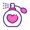 date, day, love, mother, perfume icon