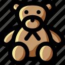 animal, bear, child, cute, doll, teddy, toy