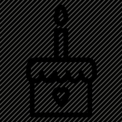 bakery, birthday, cake, decoration, dessert, party, pastry icon