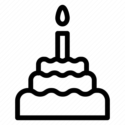 bakery, birthday, cake, celebration, party, present, sweet icon
