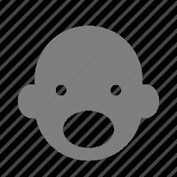 emoticon, expression, face, motion, pronunciation, reaction, speech icon