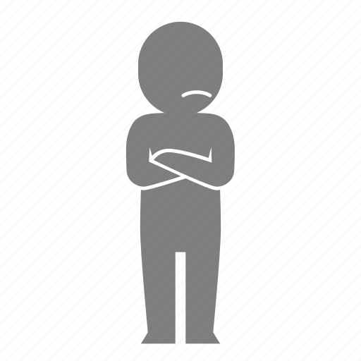 animation, emoticon, expression, motion, reaction, sulk icon
