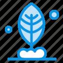 leaf, motivation, plant icon