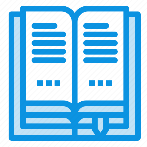 book, education, open icon