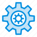 gear, motivation, setting icon