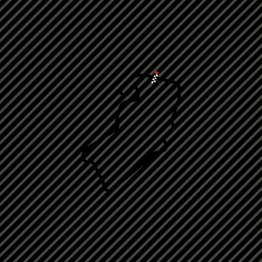 car, circuit, finish, formula, gp, lap, moto, motorcycle, race, sport, track icon