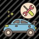 repair, service, car, tools icon