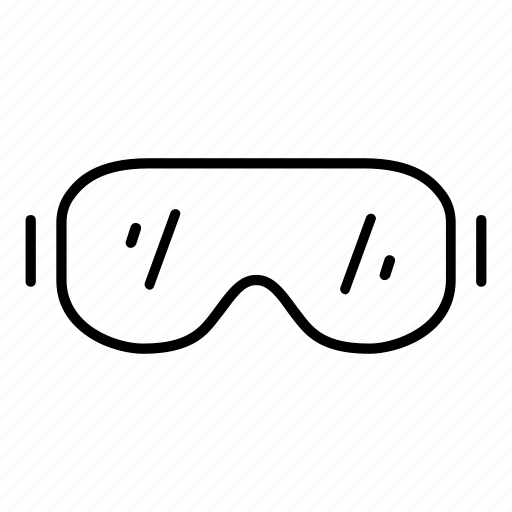 eyeglasses, glass, glasses, motorcycle, view, viewfinder, vision icon