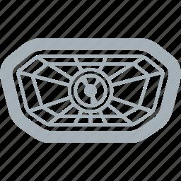 head, headlight, lamp, motorcycle, parts icon