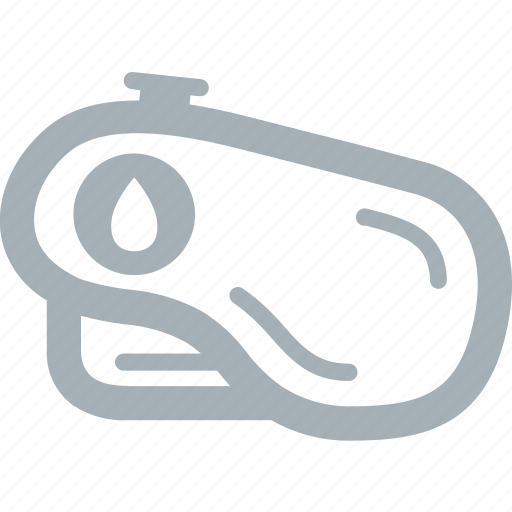 motorcycle, oil, parts, tank icon