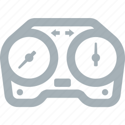 gauge, motorcycle, parts, speedometer icon