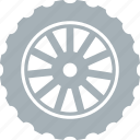 motorcycle, parts, tires icon