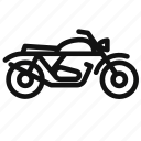bike, motorcycle, ride, transport, transportation, vehicle icon
