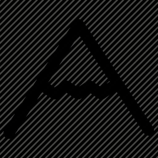 Alps, hill, mount, mountain, mountains, peak, rock icon - Download on Iconfinder