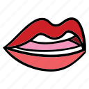 body, expression, lips, mouth, part, smile, teeth icon