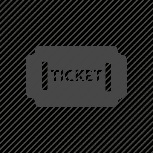ticket, voucher icon
