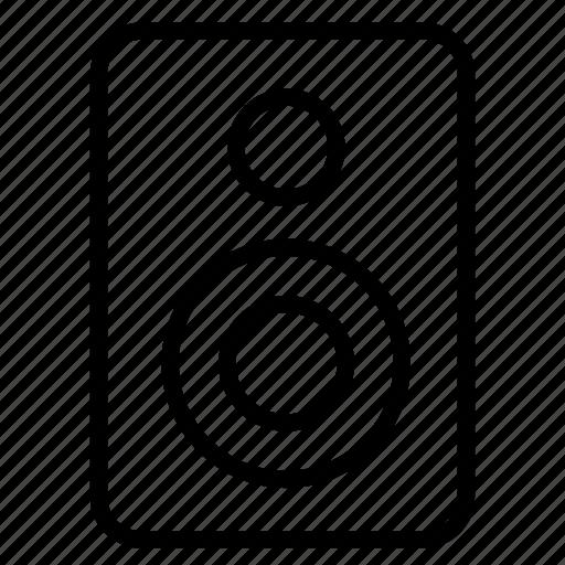 audio, movie, music, sound, speaker, volume icon