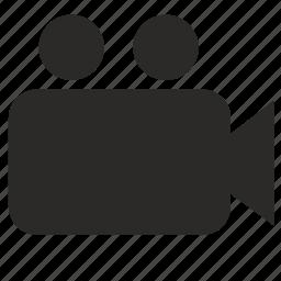 camera, film icon