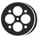 film, movie, tape icon