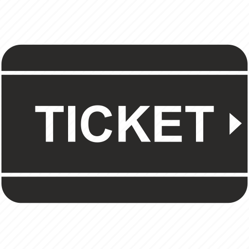 film, movie, ticket icon