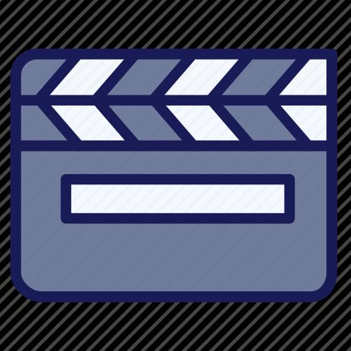 Clapboard Clapper Entertainment Film Movie Theater Icon