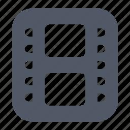 clip, film, photo, video icon
