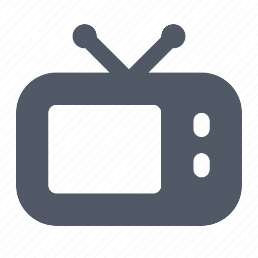 broadcast, entertainment, set, show, television, tube, tv icon