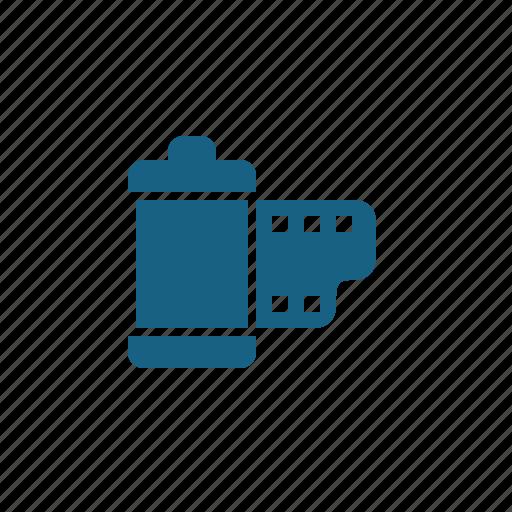 Camera film, film, film reel, film roll icon - Download on Iconfinder
