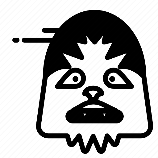 Hollywood, chewbacca, film, cinema icon - Download on Iconfinder