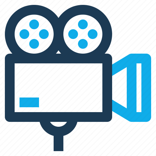 camera, cinema, lens, movie, multimedia, video icon