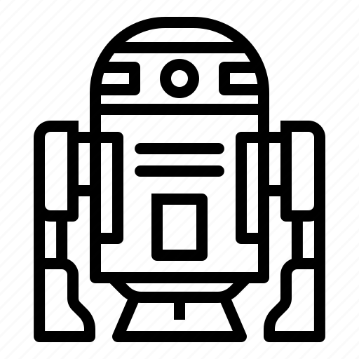 d2, movie, r2, r2d2, robot, science, starwars icon