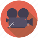 camera, cinema, entertainment, film, movie icon