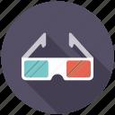3d glasses, cinema, entertainment, glasses, goggles, movie