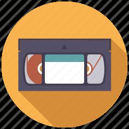 cassette, entertainment, movie, video icon