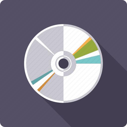 cd, disc, dvd, entertainment, medium, movie icon
