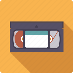 cassette, entertainment, movie, tape, video icon