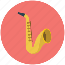instrument, jazz, saxophone, music
