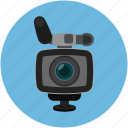 camcorder, camera, record, video camera icon