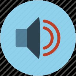 audio, sound, sound levels, speaker, volume icon
